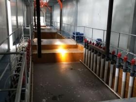 电泳全自动生产线电泳槽实例