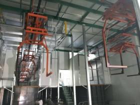 电泳生产线输送装置